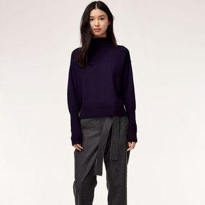 "Wilfred ""Cyprie"" Merino Wool Mock Neck Sweater"